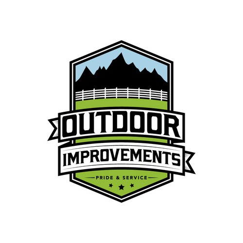 Vintage Logo for Outdoor Improvements