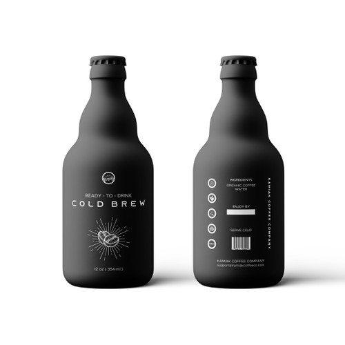 Bottle Design for Kamiak Cold Brew