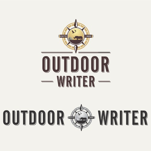 Logo for Outdoor Writer