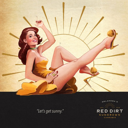 Pin Up Contest Entry