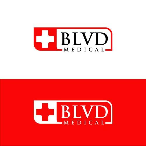 Modern Medical health care logo design