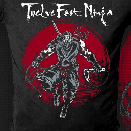 Twelve Feet Ninja Shirt