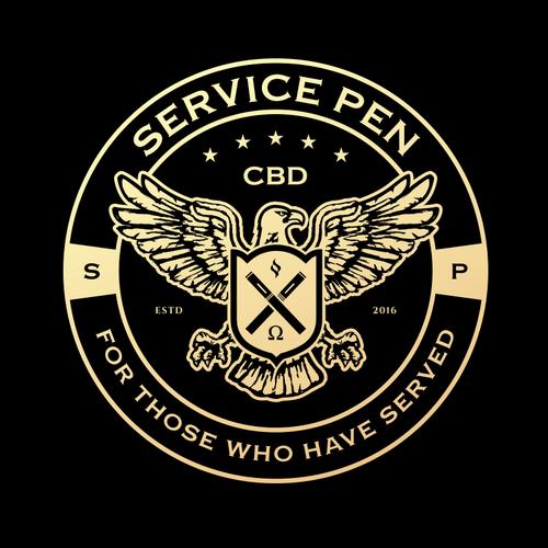 Logo design for Military Vape Pen
