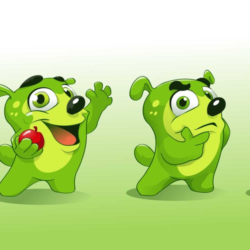 Fruits and vegetables food mascot