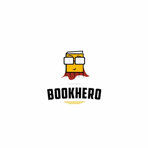 Logo design for international book sharing platform