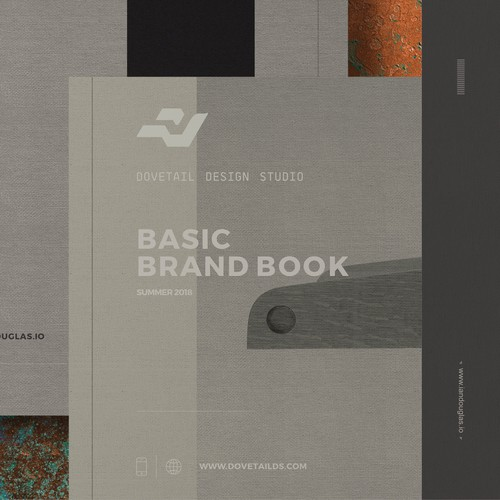 Brand guide for Dovetail Design Studio