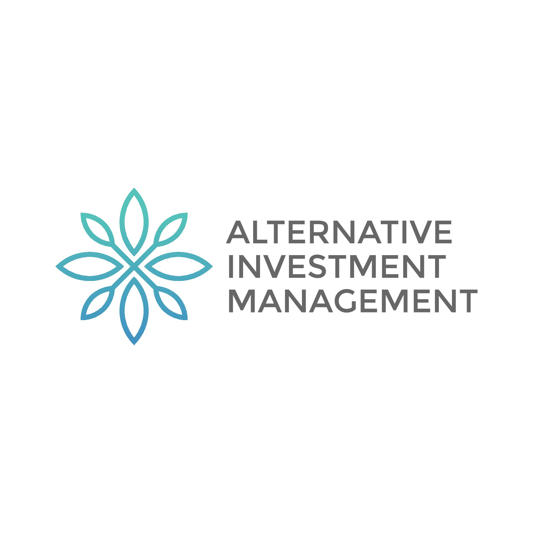 Modern funds management company logo and branding