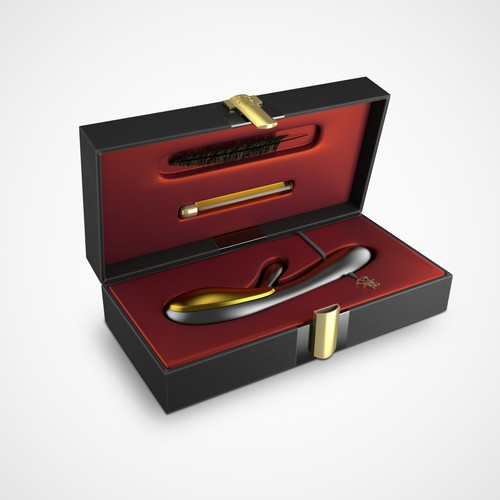 Luxurious packaging for a high-end sex toy