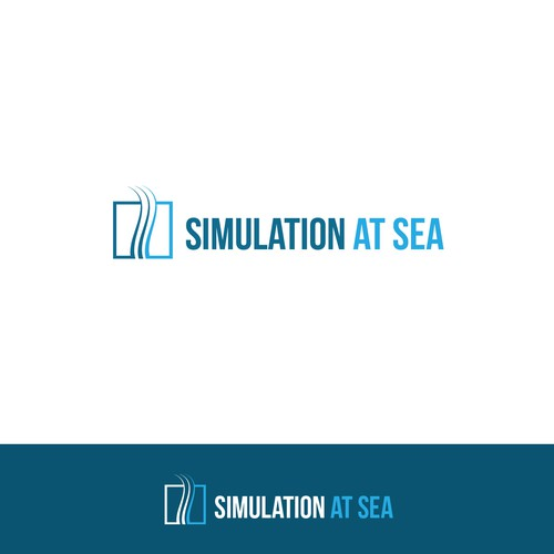 Simulation At Sea logo