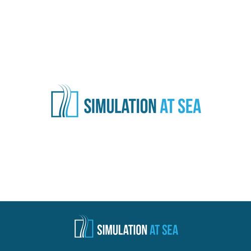 Simulation At Sea logo
