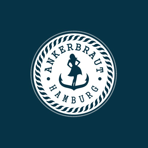 "logo for our new fashion brand ""Ankerbraut Hamburg"""