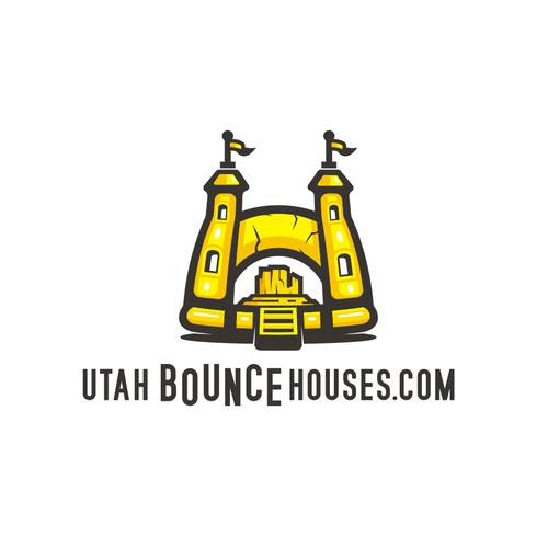 Help create Logo for a bounce house company in Utah, USA.