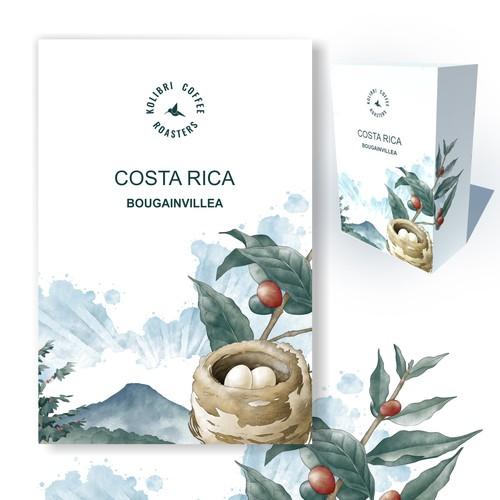 Hummingbird Coffee Packaging