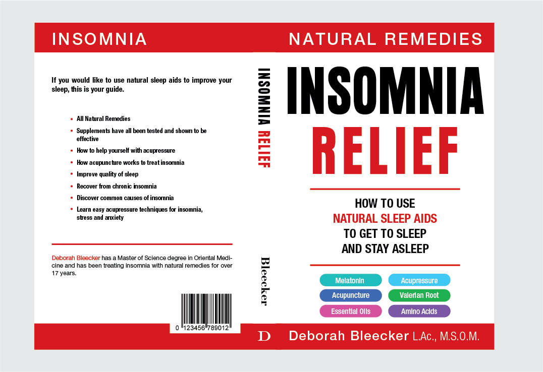 Book Cover for Insomnia Relief book