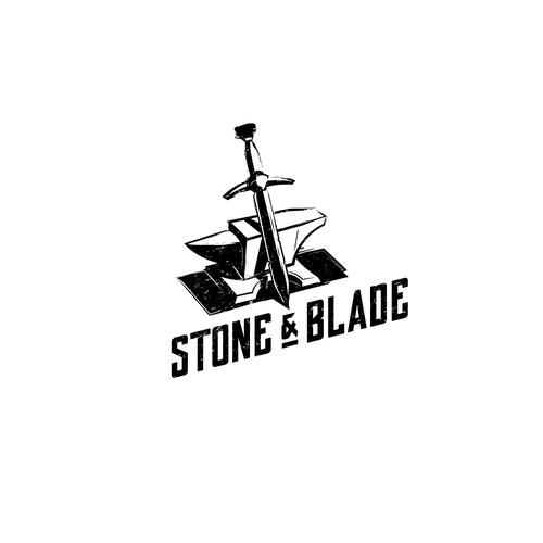Stone&Blade Logo design