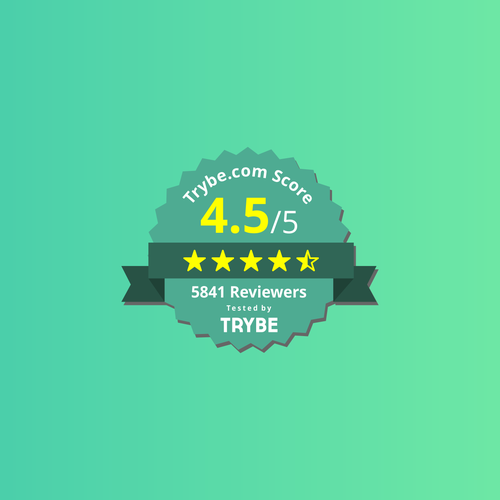 Badge design for score and rating
