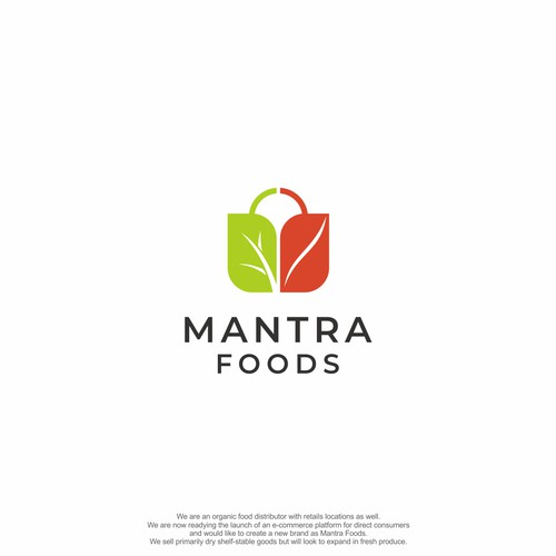 Logo concept for Mantra Foods