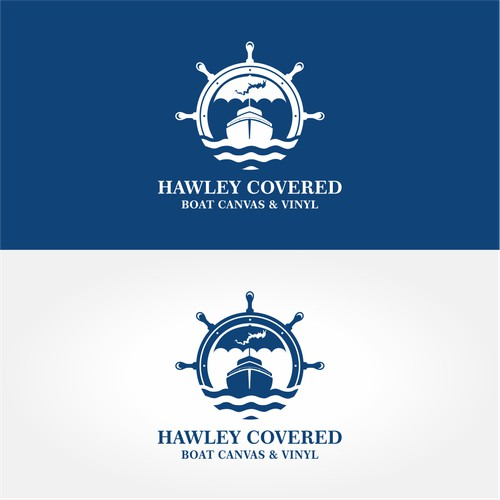 Modern and mature logo for Hawley Covered