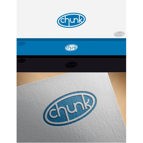 Chunk logo design