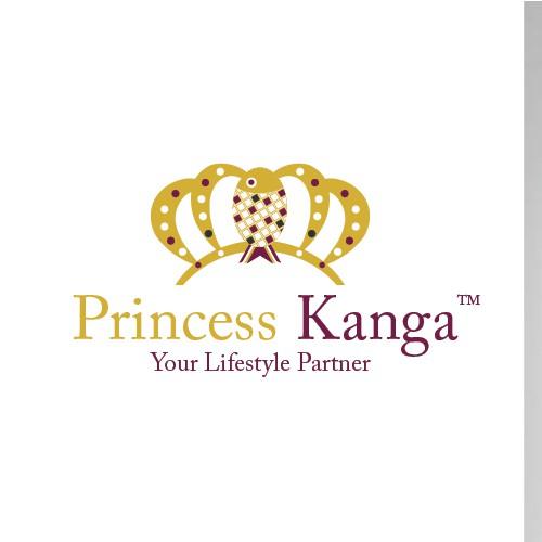 Princess Kanga logo design