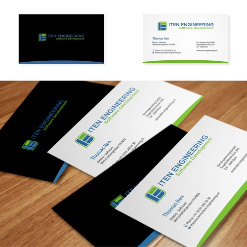 Iten Engineering Business Card