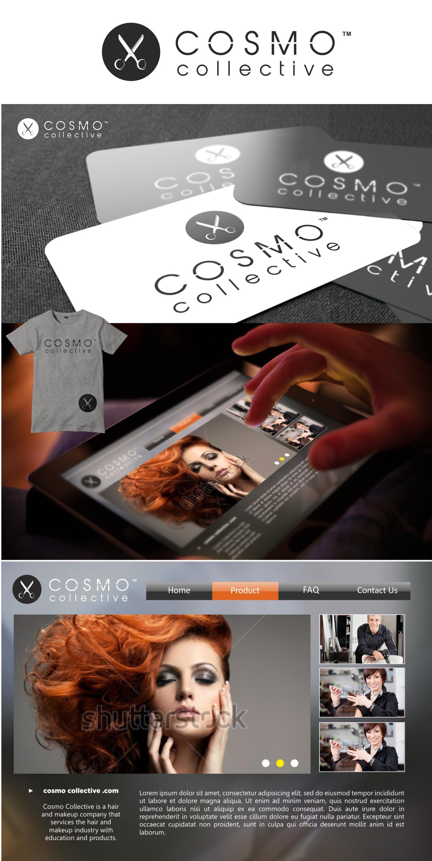 Create a brand identity for COSMO COLLECTIVE