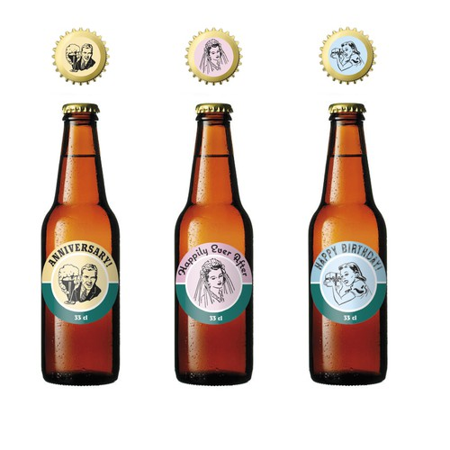 occasion beer labels