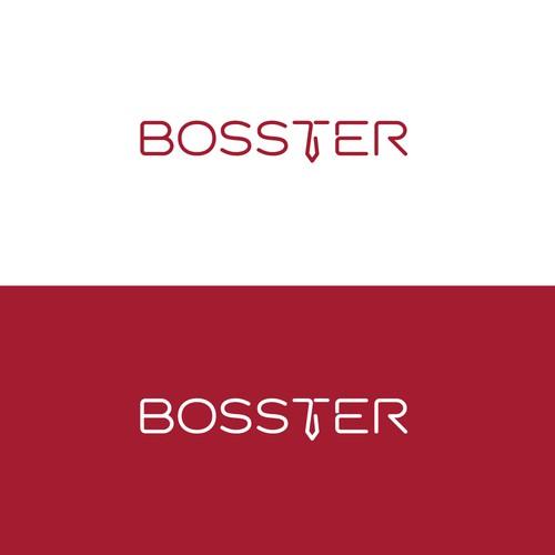 Punchy logo for BOSSTER