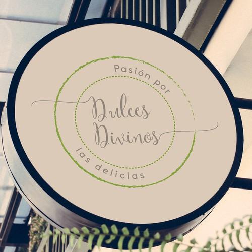 Logo design concept for a restaurant