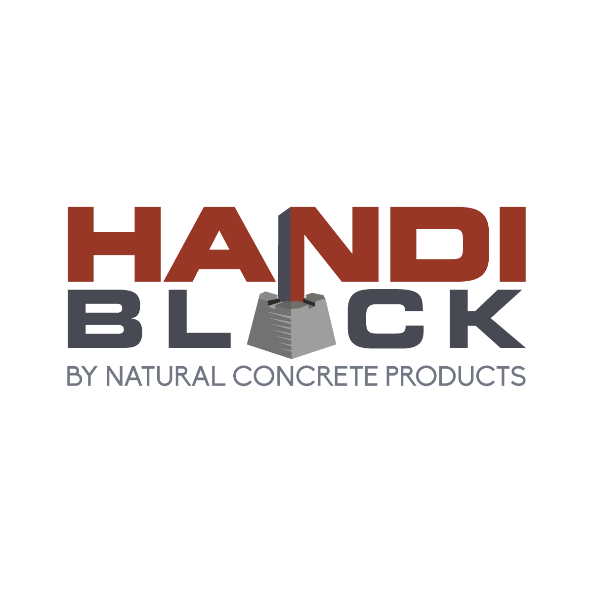 Don't be a blockhead...we need a logo for a concrete block.  Please.
