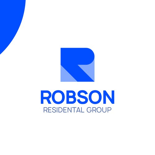 modern geometric clean logo