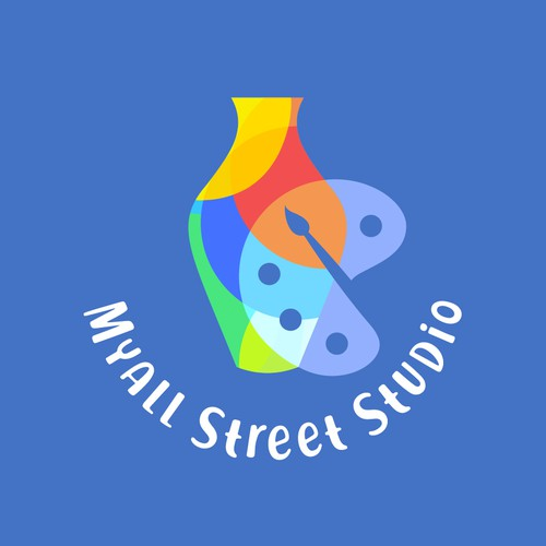 I made this logo design for an Australian Pottery and Art studio.