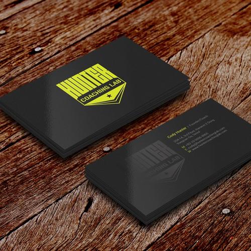 Hunter Business Card