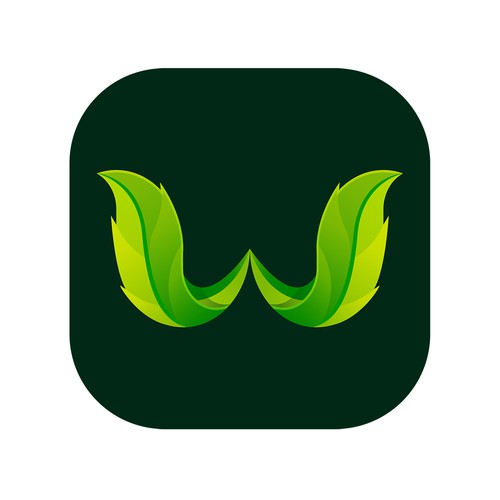 Tree App Icon for an app that helps the Environment