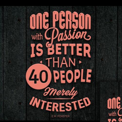 Wallpaper for 99design contest