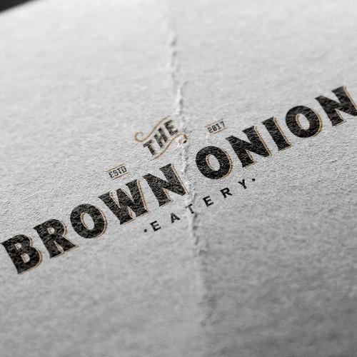Logo design for a cafe.