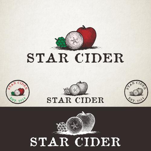 Vintage Logo for Cider Company