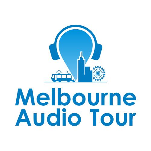 Logo for interactive audio tour of Melbourne, Australia