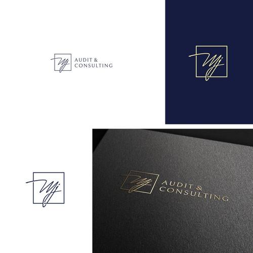 Logo design for MJ Audit & Consulting