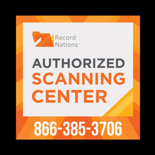 Scanning Centers Needs Decal For Partners