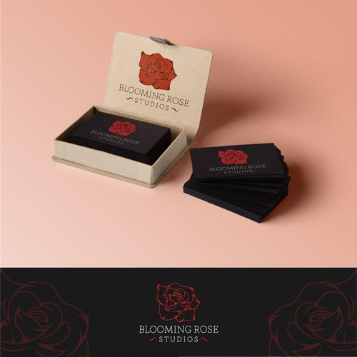 Blooming Rose / Studios Logo.
