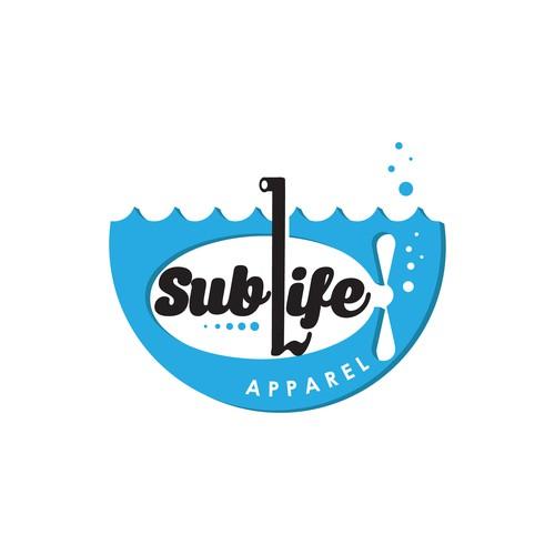 Fun concept for Sublife Apparel Logo