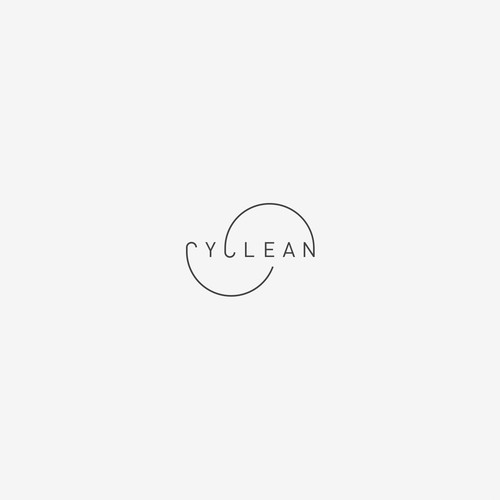 Expressive wordmark for circular cleaner