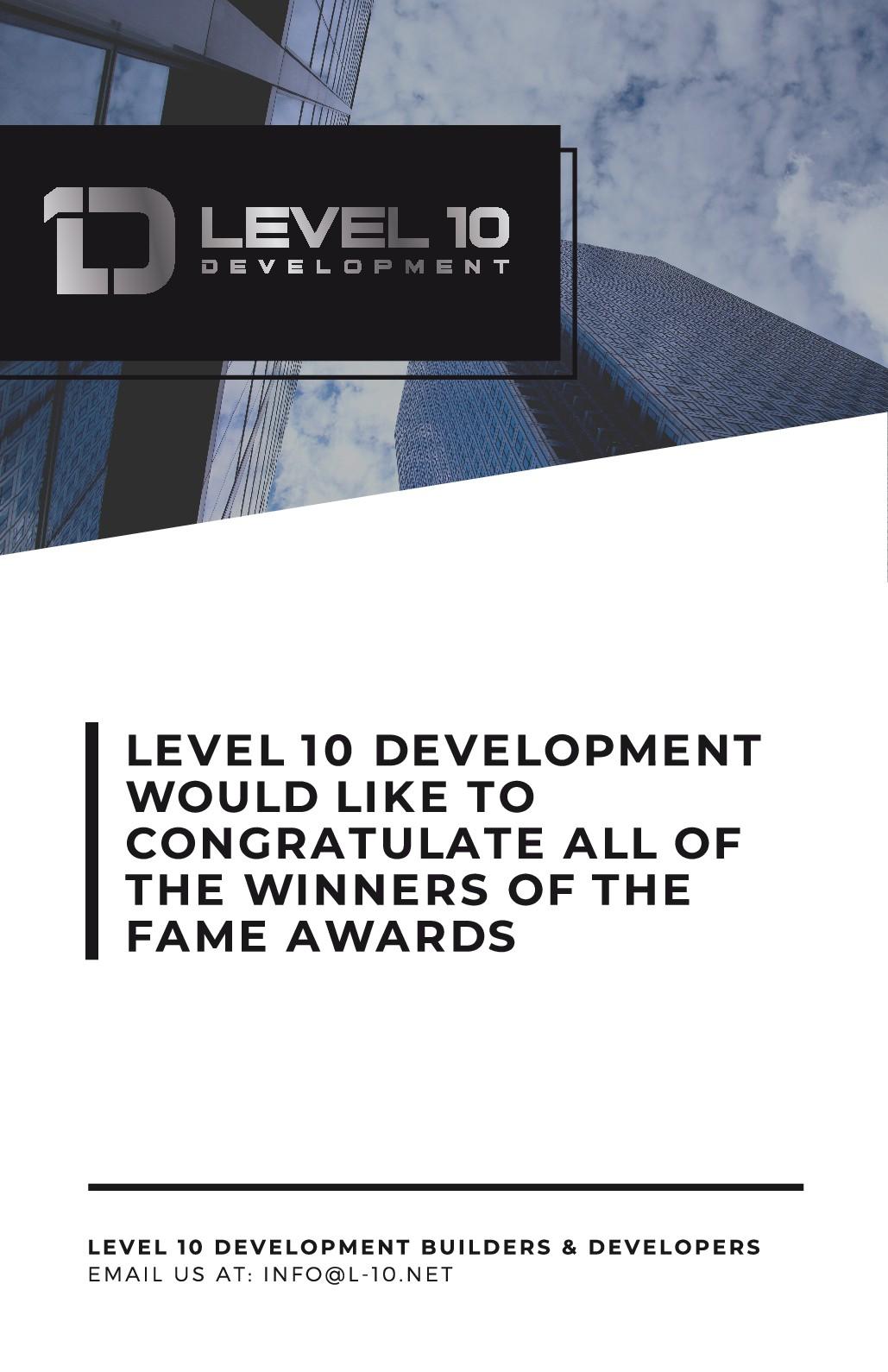 Event ad for real estate development company