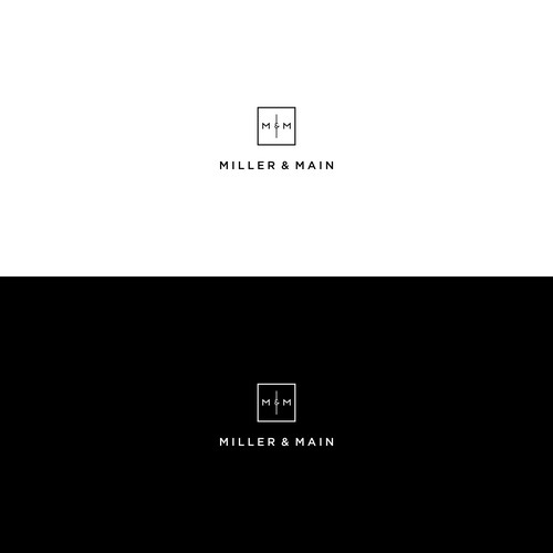 Logo concept for MILLER & MAIN