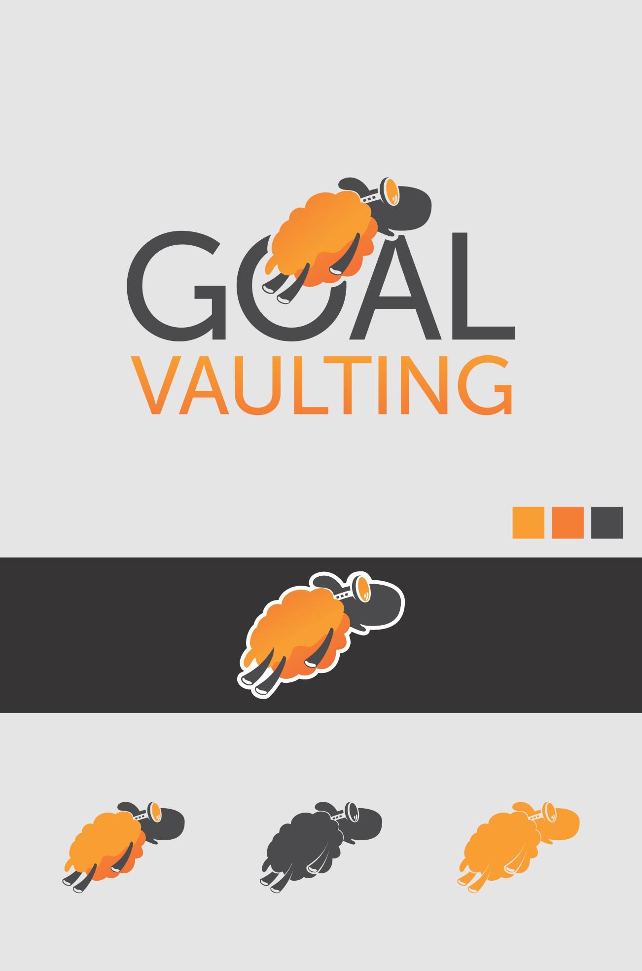 design a clever & modern logo for a new venture, Goal Vaulting