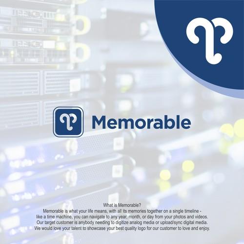 Logo concept for Memorable