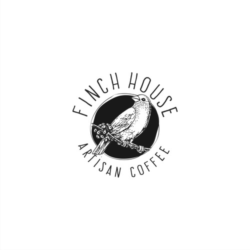 Logo Branding For Finch House Coffee