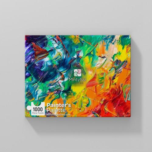 painter palette box