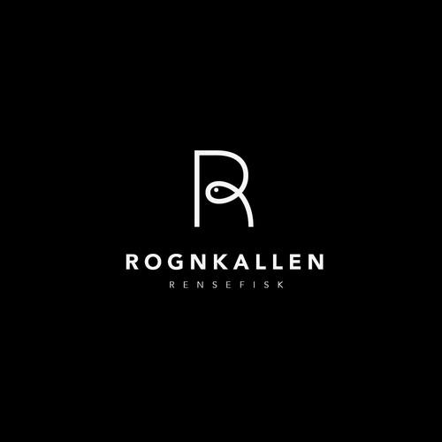 Logo for a Norwegian Fish Company